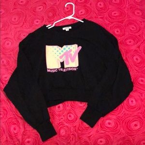 Cropped MTV Crewneck